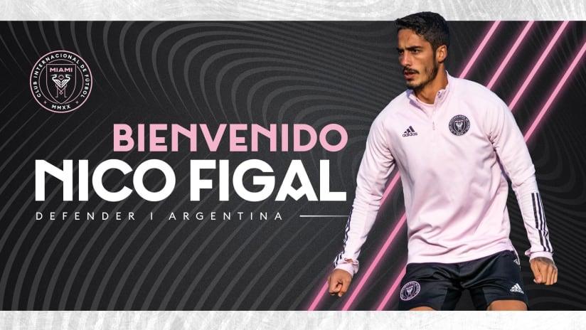 Nico Figal - Inter Miami - Signing