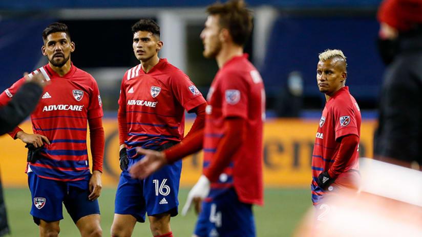 FC Dallas - sad look - MLS Cup Playoffs