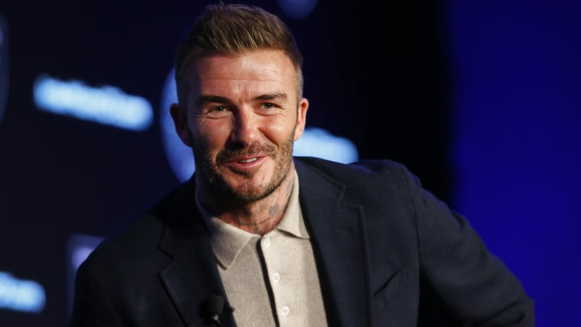 Miami's David Beckham preparing to root against LA Galaxy for first time