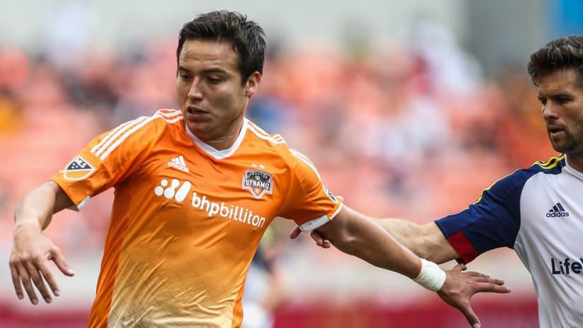 Erick Cubo Torres - Houston Dynamo - Battles for ball