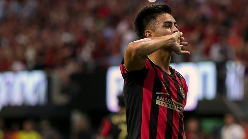 Pity Martinez - Atlanta United - Celebrate