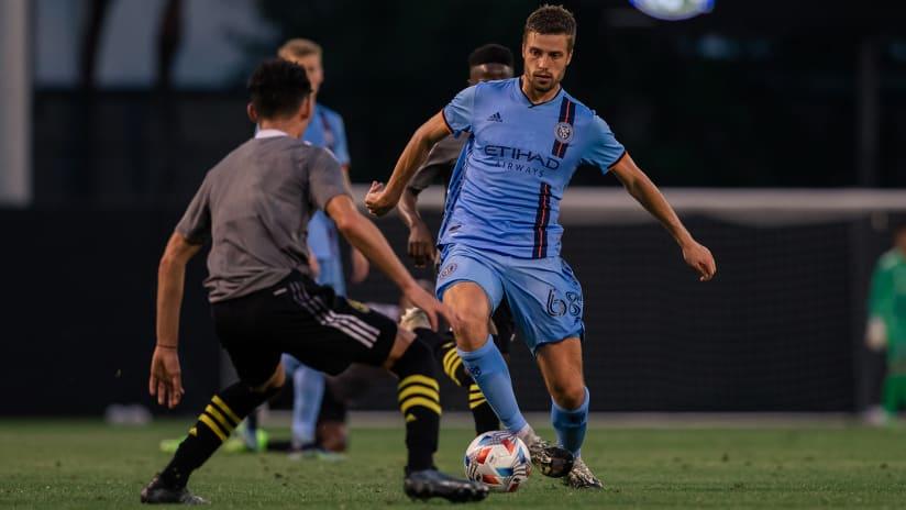 NYCFC sign SuperDraft pick, defender Vuk Latinovich