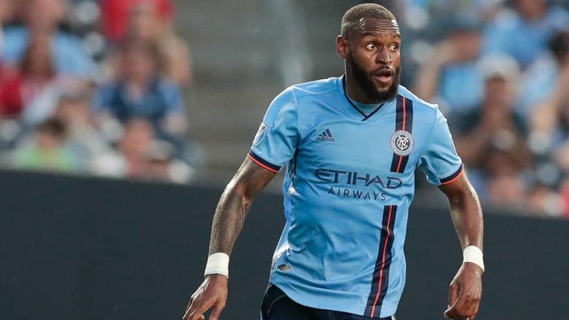Sebastien Ibeagha – New York City FC – tight shot
