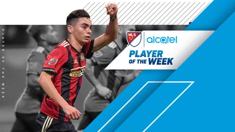 Miguel Almiron Alcatel Player of the Week 9