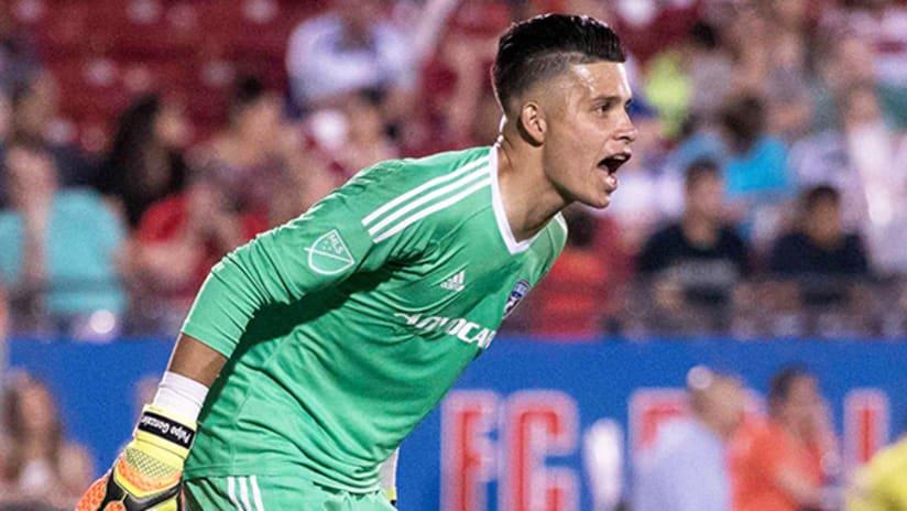 Jesse Gonzalez - FC Dallas - May 14, 2017
