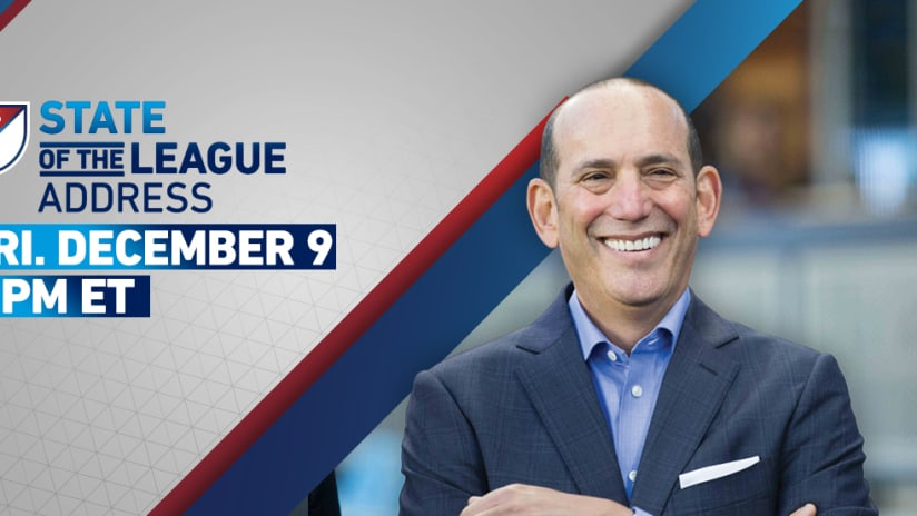 2016 State of the League Address - 3pm (December 9, 2016)