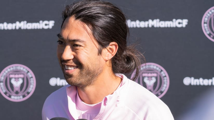 Lee Nguyen - Inter Miami training