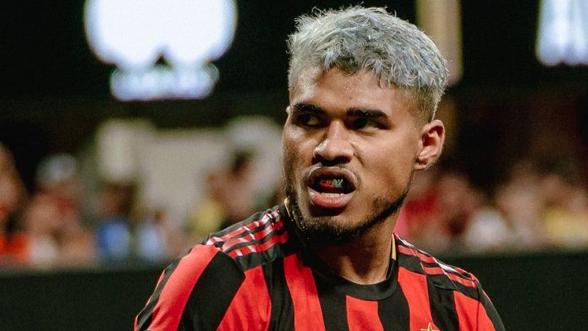Josef Martinez - Atlanta United - Looking mean