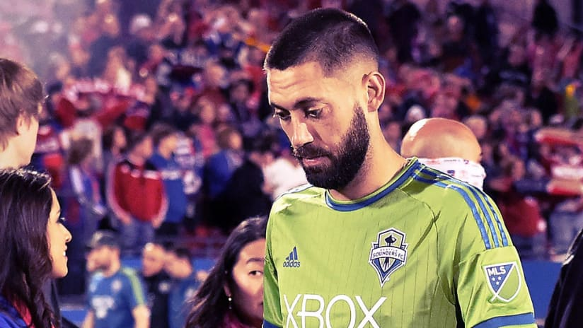Clint Dempsey - Seattle Sounders - Sad