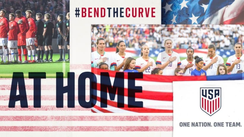 USSF - Bend the Curve, Stay at Home - THUMB only