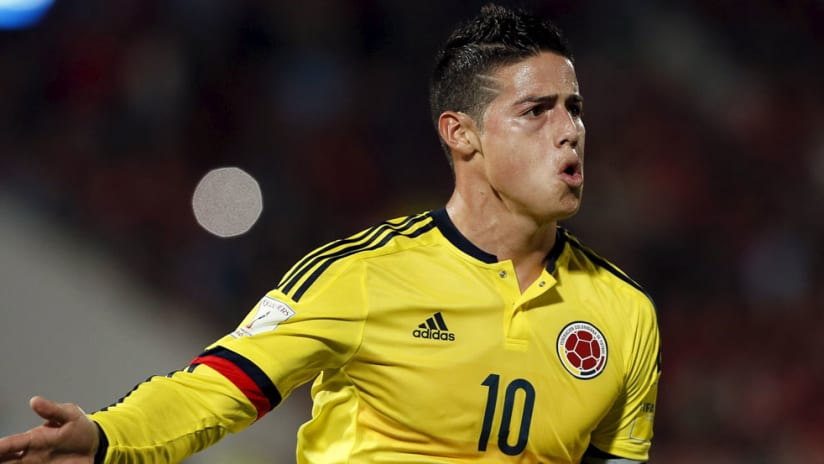 James Rodriguez - Colombia - Close up