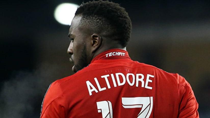 Jozy Altidore - Toronto FC - jersey back