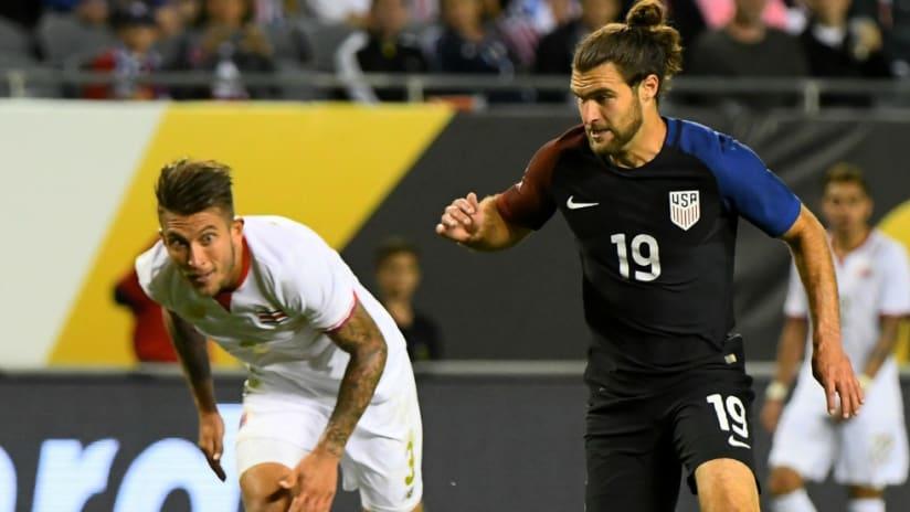 Francisco Calvo - Graham Zusi - Copa America Centenario - USA - USMNT - Costa Rica