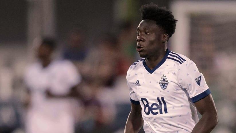 Alphonso Davies - Vancouver Whitecaps FC - Close up