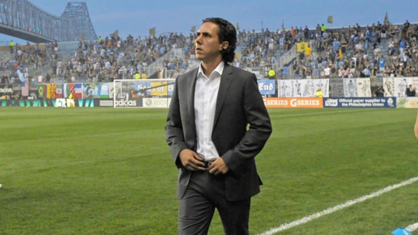 Mauro Biello in Philadelphia (August 31, 2013)