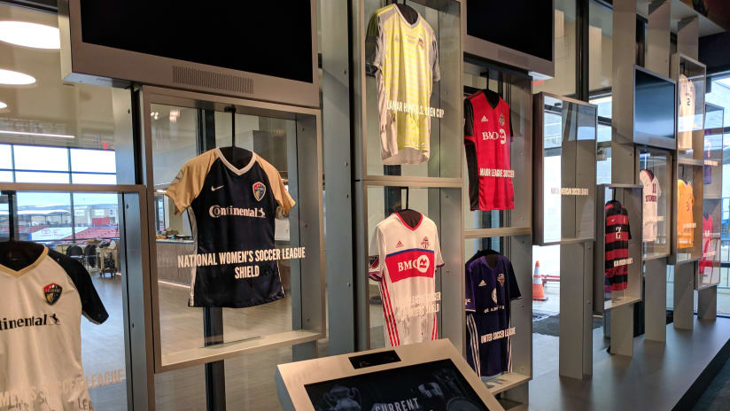 National Soccer Hall of Fame Wall of Champions