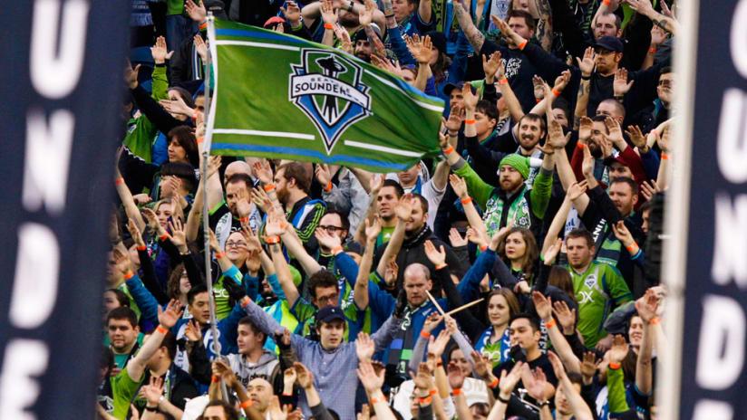 Seattle Sounders - Fans - Boom, Boom, Clap