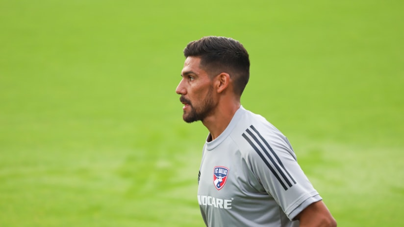 Franco Jara - FC Dallas - Training