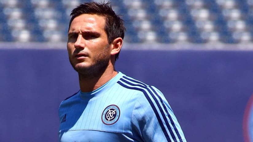 Frank Lampard - New York City FC - warmup