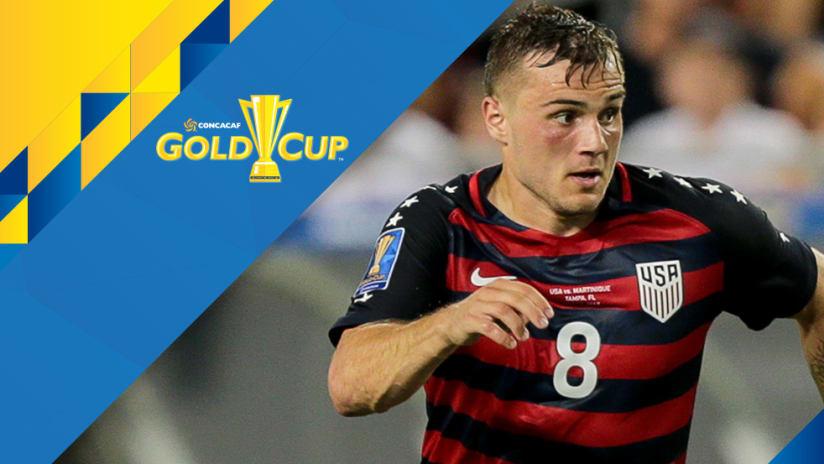 Jordan Morris - closeup - US national team - Gold Cup overlay 2
