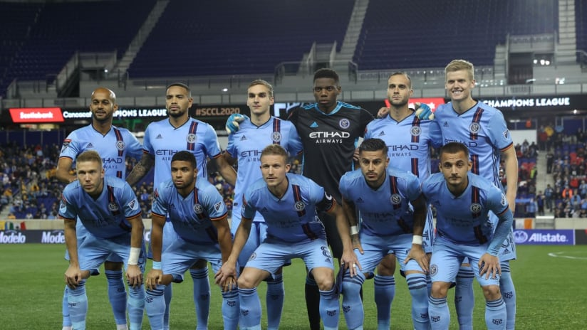 NYCFC - team photo - Red Bull Arena