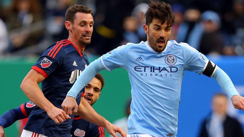 David Villa - New York City FC - first home game