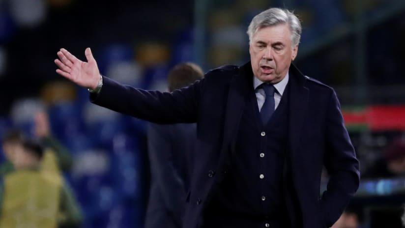 Carlo Ancelotti - on the sideline