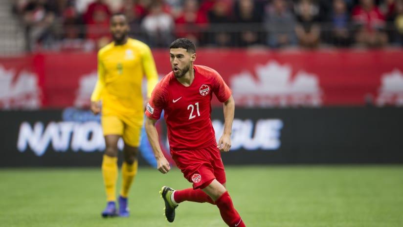 Jonathan Osorio - Canada national team - vs. French Guiana