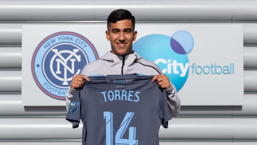 Juan Pablo Torres - NYCFC - presentation