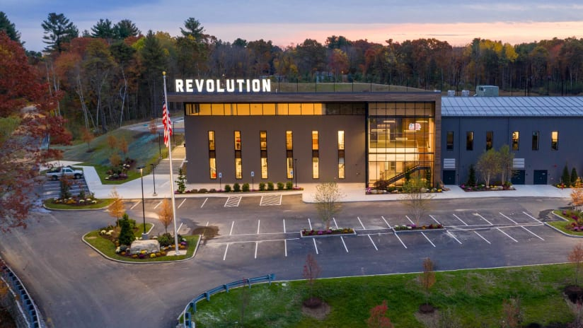 New England Revolution - new training center - front view