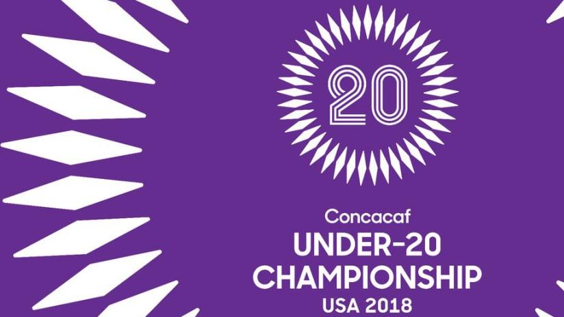 Concacaf U-20 Championship - 2018 - graphic