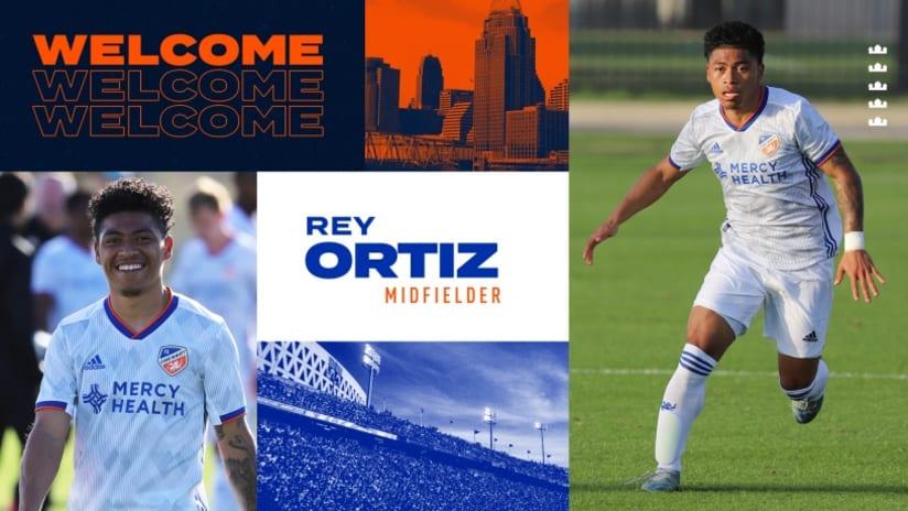 Rey Ortiz - FC Cincinnati