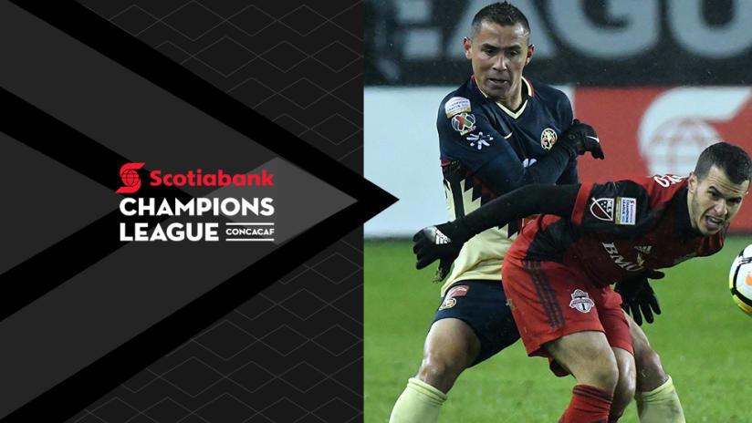 Sebastian Giovinco - Toronto FC vs. Club America - with CCL overlay