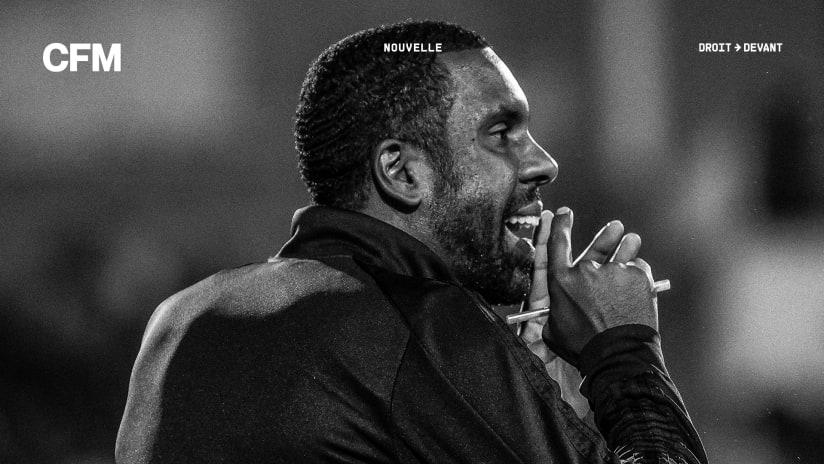 Wilfried Nancy - CF Montréal - announcement
