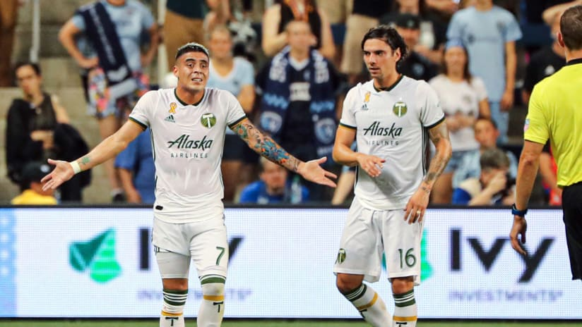 Brian Fernandez - Portland Timbers - what's going on