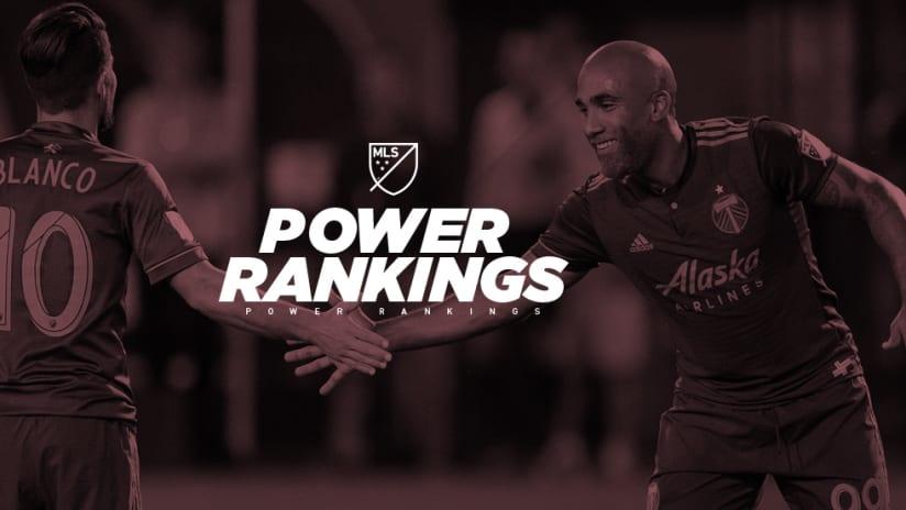 Power Rankings - Samuel Armenteros - Portland Timbers - high five