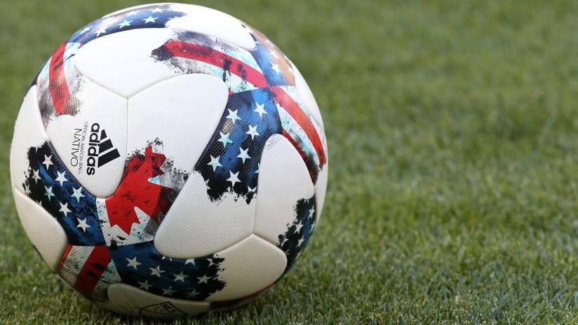 2017 MLS ball close-up - adidas Nativo