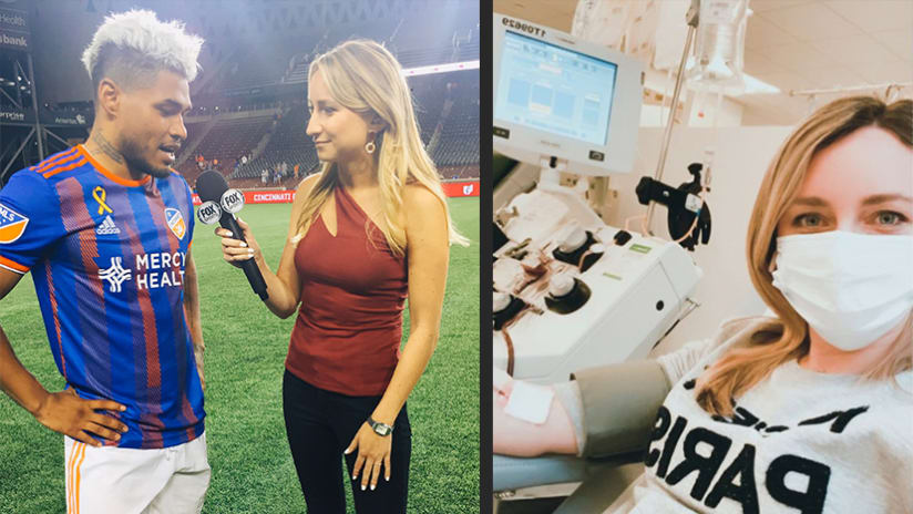 Jillian Sakovits - interview/plasma donation (Thumb only)