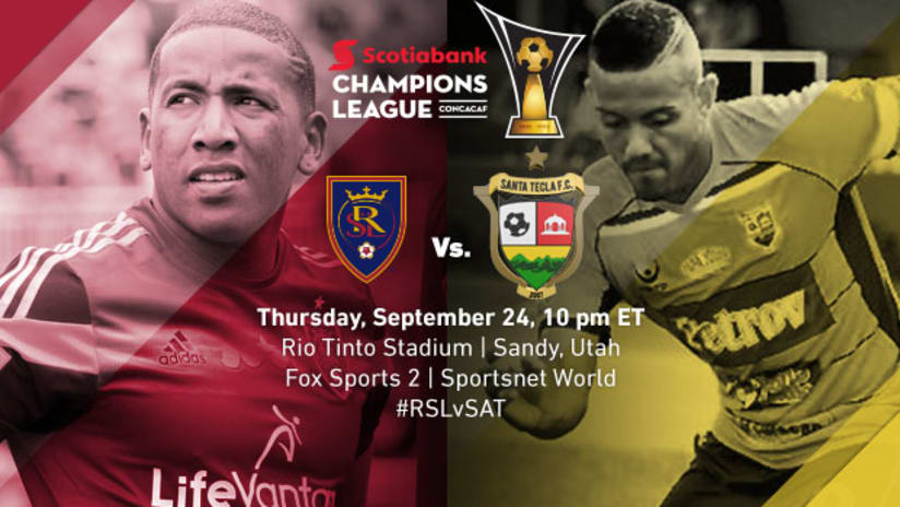 Real Salt Lake vs. Santa Tecla, September 24, 2015