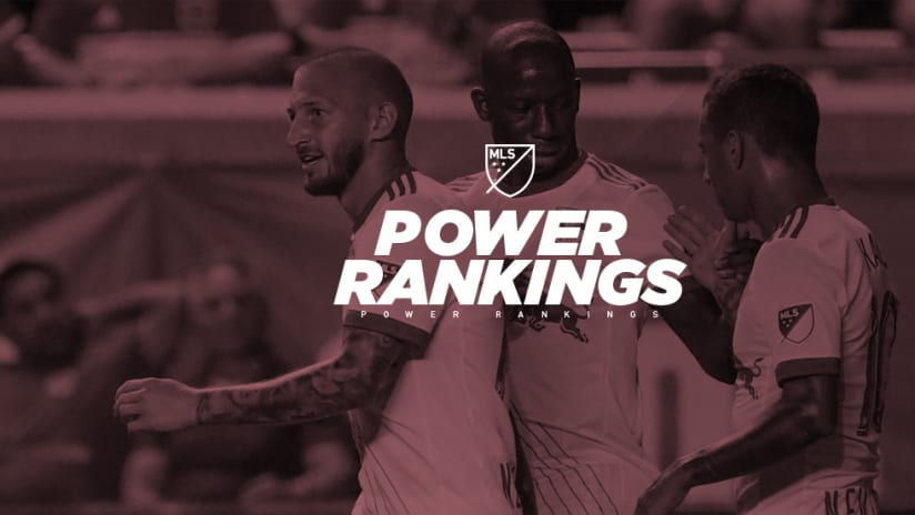 Power Rankings - New York Red Bulls - celebrating