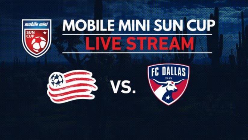 2018 Mobile Mini Sun Cup: New England vs. Dallas - February 14, 2018