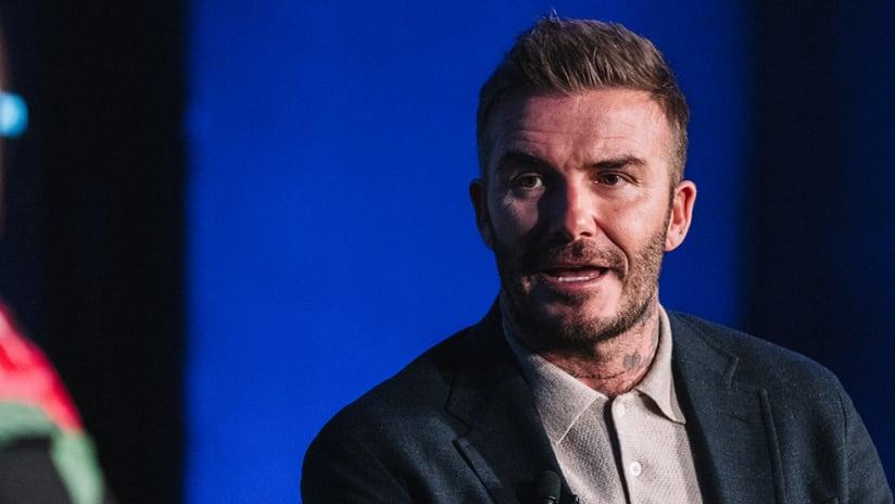 David Beckham - Inter Miami CF - MLS 25th season launch event