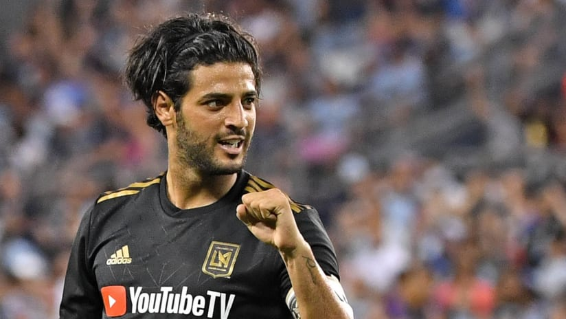 Carlos Vela excited - LAFC