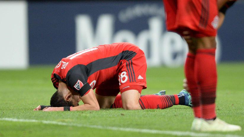 Toronto FC - disappointment - Marky Delgado