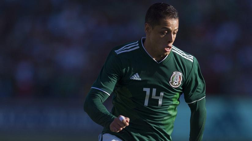 Chicharito - Mexico - World Cup game