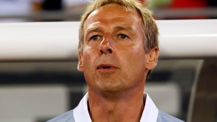 Jurgen Klinsmann - US national team - Looks straight ahead - Closeup