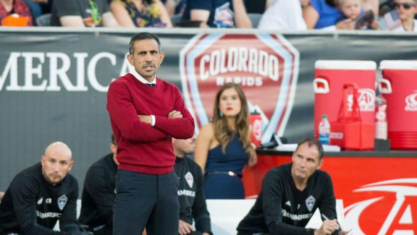 Pablo Mastroeni as Colorado Rapids coach