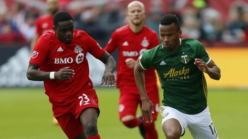 Chris Mavinga - Jeremy Ebobisse - Toronto FC - Portland Timbers