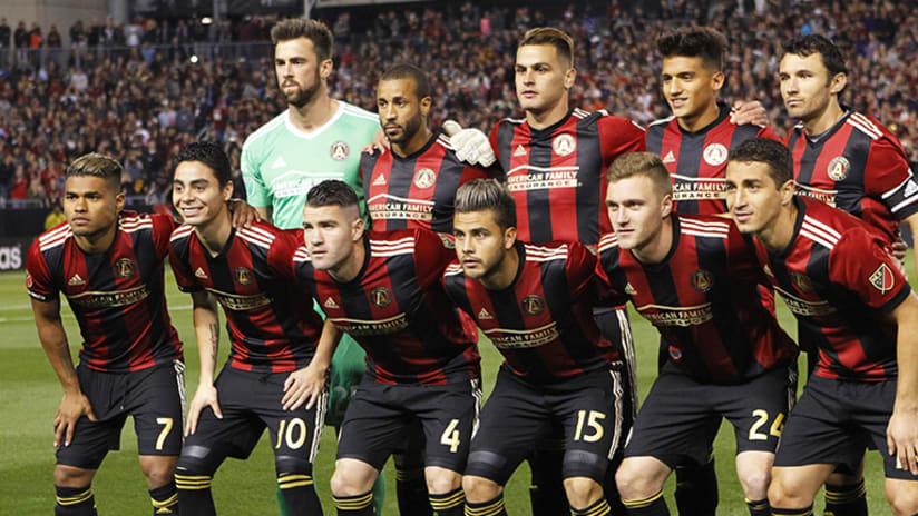 Atlanta United FC squad - March 5, 2017