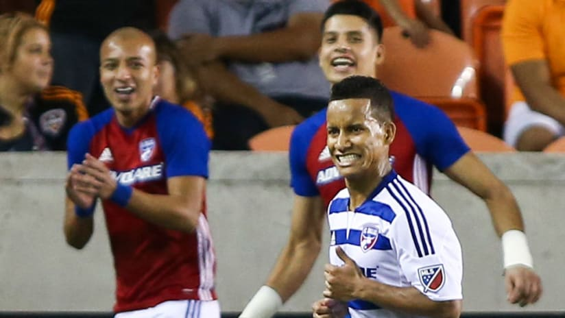 Michael Barrios - FC Dallas - Celebrate